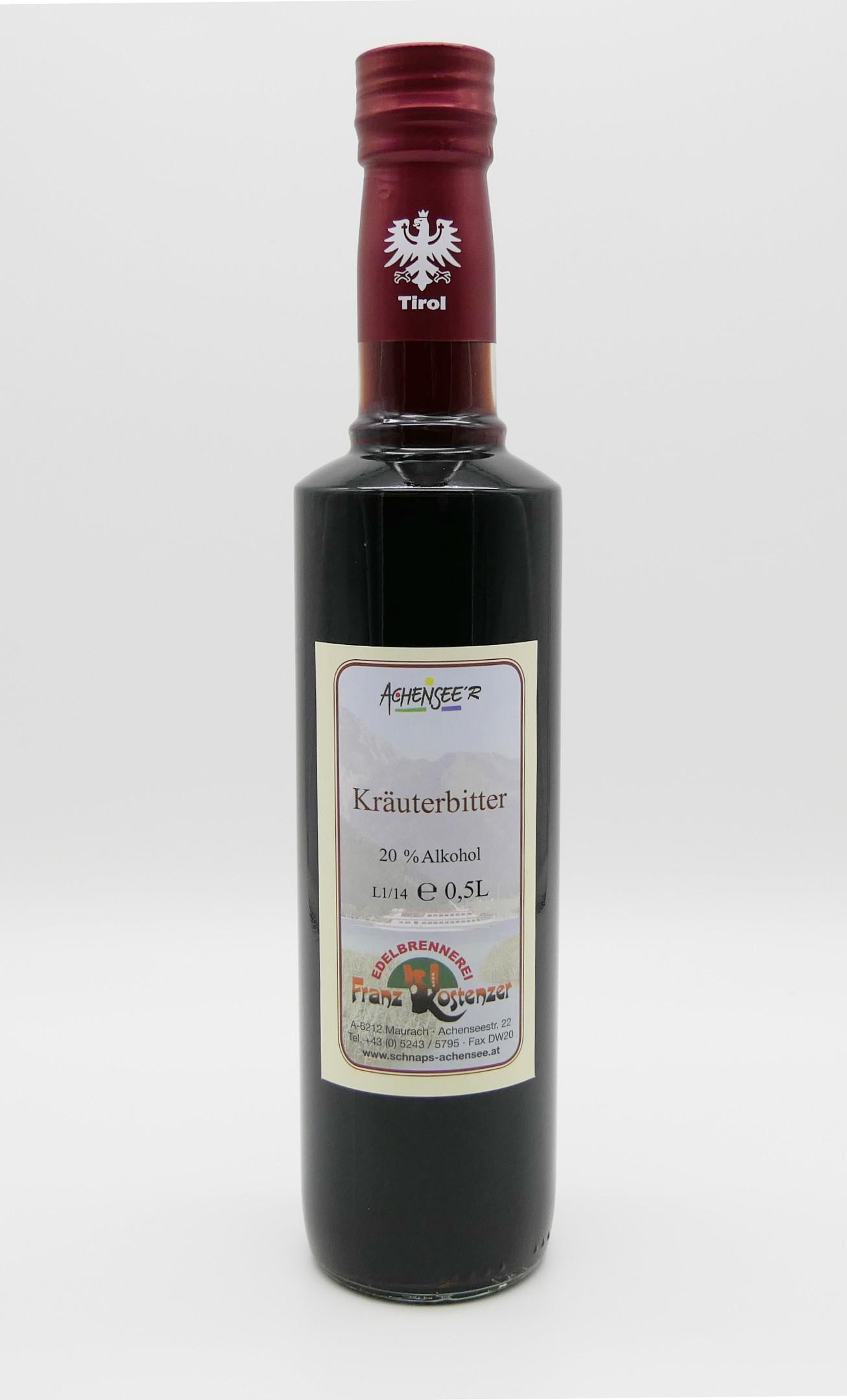 Achensee'r Kräuterbitter Spirituose