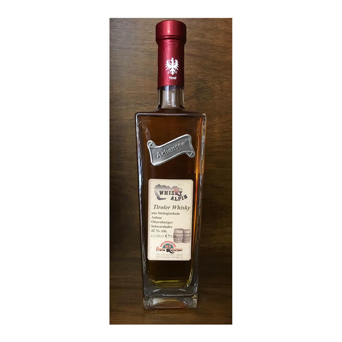 Tiroler Whisky Biologischer Anbau
